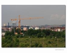 Stock crane Liebherr 201 HC – new dominance of Kranimex premises in Strašnice – Prague 10