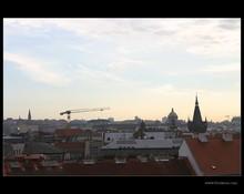 Building site on 'Senovážné náměstí' in Prague