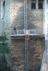 Rekonstrukce fasády zámku  Český Krumlov