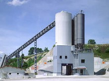 Tower concrete mixing plant Betomat II